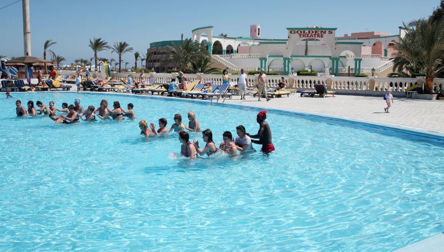 123rf.com nuotr./Viešbutis Hurgadoje