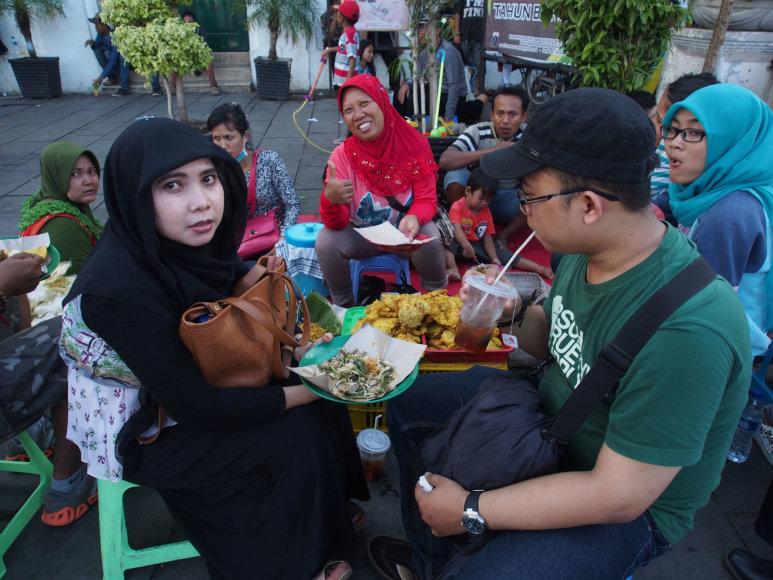 123rf.com nuotr./Musulmonų turistų šeima Malaizijoje