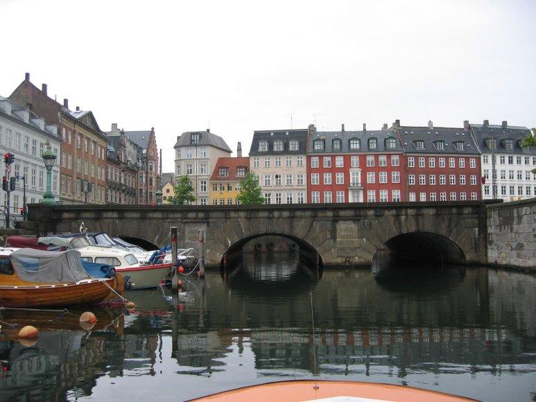 Vaido Mikaičio nuotr./Plaukiant Kopenhagos kanalais