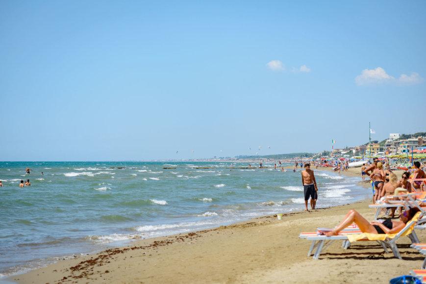 123rf.com/Ostija – viena iš trijų greta Romos esančių pliažų zonų