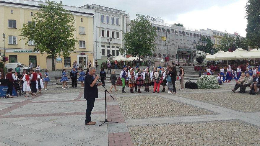 Vaido Mikaičio nuotr./Koncertas Balstogės rotušės aikštėje
