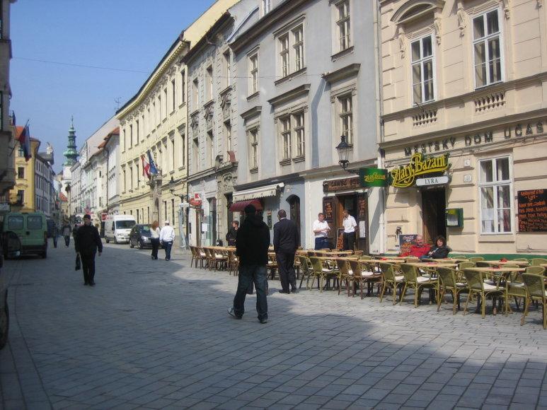 Vaido Mikaičio nuotr./Bratislavos senamiestis