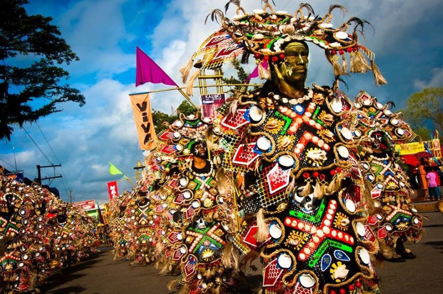 Panaynewsphilippines.com nuotr./Ati-Atihan festivalio akimirka