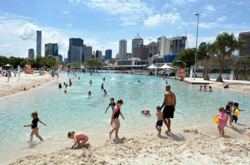 123rf.com nuotr./Australija, Gatvės paplūdimys