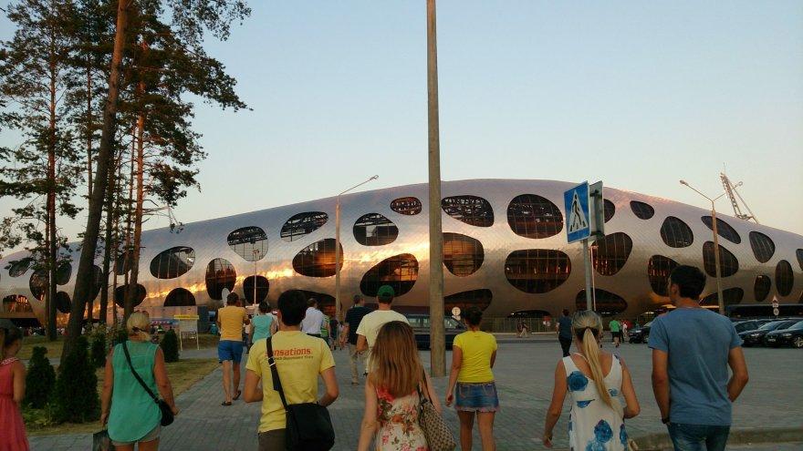 Oksanos Buzmakovos nuotr./Borisov Arena