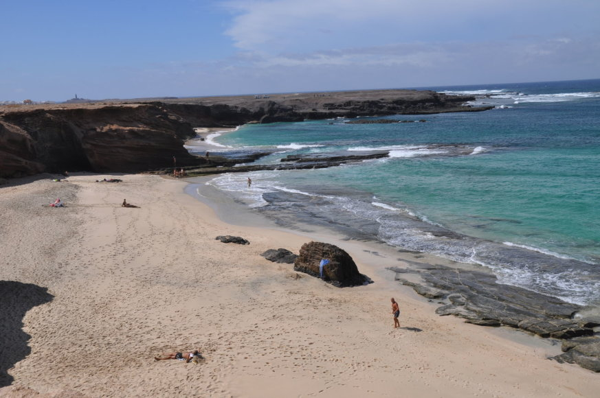 Udriaus Armalio nuotr./Fuerteventuroje – daugybė laukinių paplūdimių