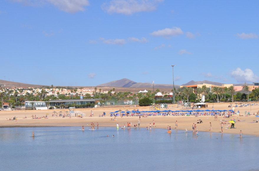 Udriaus Armalio nuotr./Caleta de Fuste paplūdimys