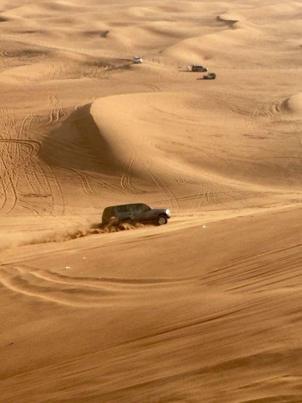Vaidos Vincevičiūtės nuotr./Dubajus – tikras stebuklų miestas
