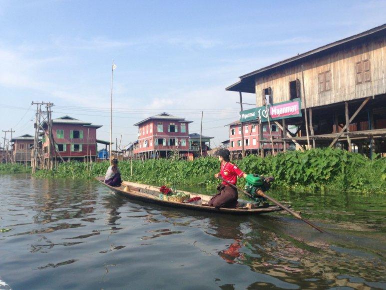 Asmeninė nuotr./Egzotiškas, bet nuoširdus Mianmaras