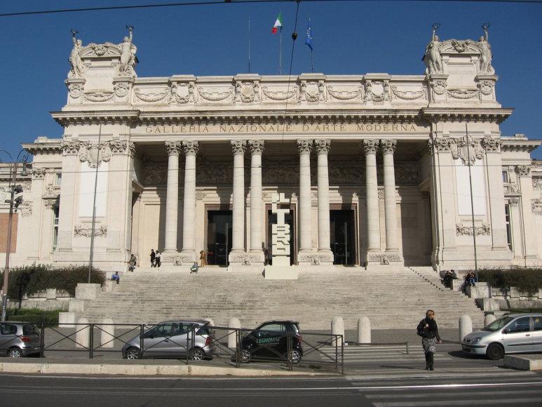 Wikipedia.com/Nacionalinė modernaus meno galerija (it. Galleria nazionale darte moderna)