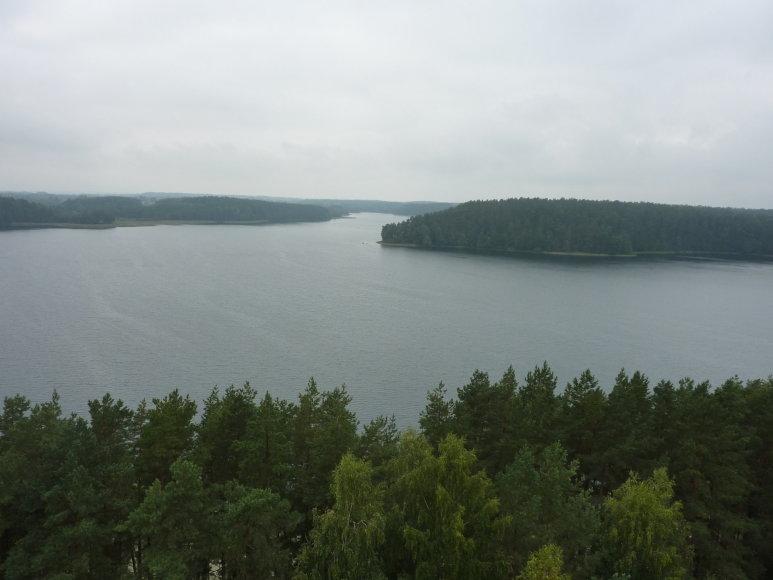 Raimundo Okunio nuotr./Vaizdas nuo Mindūnų bokšto