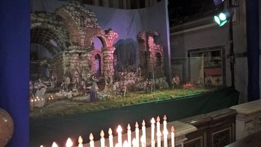 Pauliaus Jurkevičiaus nuotr./Kalėdinė Roma – prakartėlė