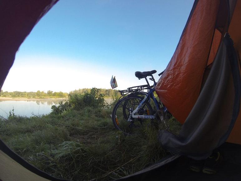 Asmeninės nuotr./Kelionė dviračiais Lietuva-Slovakija