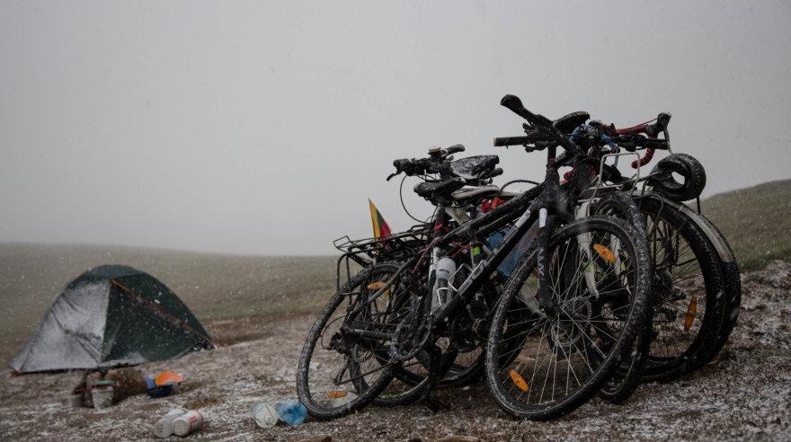 """""""Špikis"""" nuotr./Svarbiausias kelionės daiktas – dviratis"""