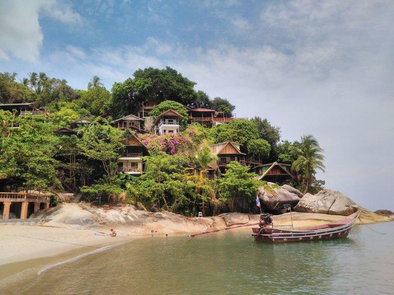Asmeninė nuotr./Koh Phangan sala
