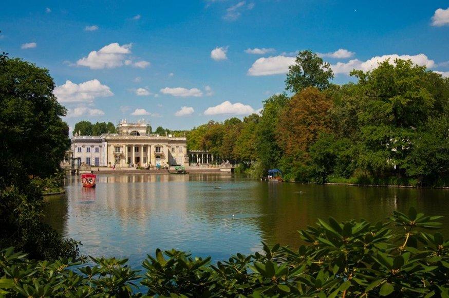 Shutterstock nuotr./Lazienki parkas, Varšuva (Lenkija)