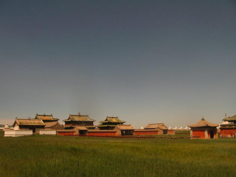 Godos Juocevičiūtės nuotr./Mongolija, Erdene Zuu vienuolynas