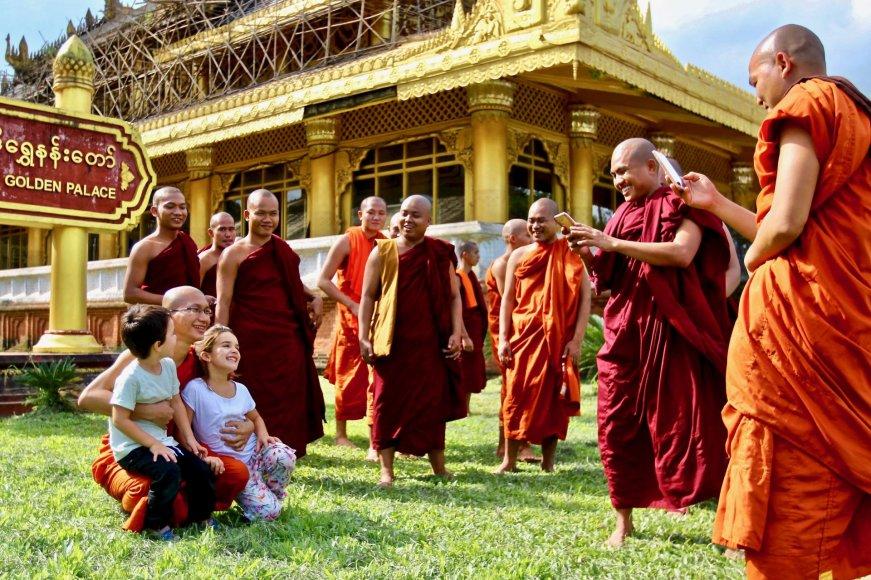 Asmeninė nuotr./Mianmare