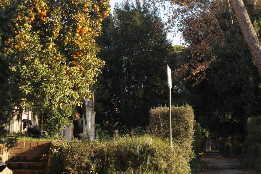 "Gabijos Karlonaitės nuotr./Parkas ""Villa Celimontana"""