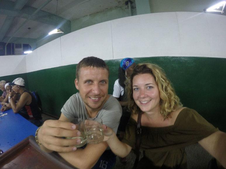 Asmeninė nuotr./Savarankiška Ernestos ir Karolio kelionė po Kubą