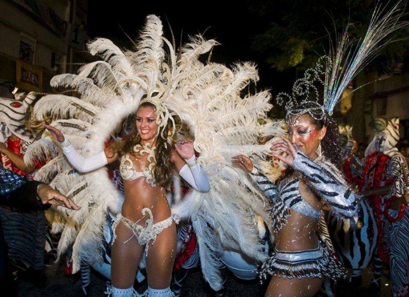 123rf.com nuotr./Šokėjos kasmetiniame Urugvajaus festivalyje