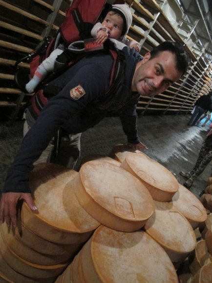 Organizatorių nuotr./Sūris ir Gian Luca