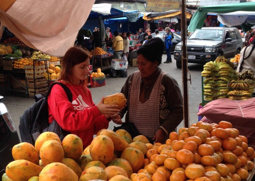 We Are Molicheras nuotr./Vingra derasi dėl papajos kainos – vietiniai derėtis nemėgsta