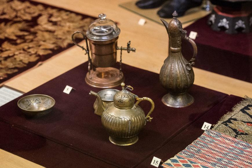 Arkadijaus Babachino/Fotografas.co nuotr./Serajos Šapšalo karaimų tautos muziejaus eksponatai