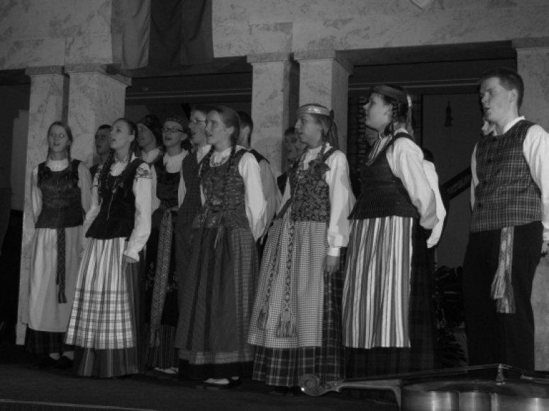 """Kauno ansamblis """"Ratilėlis"""" buvo įvertintas Bulgarijoje"""