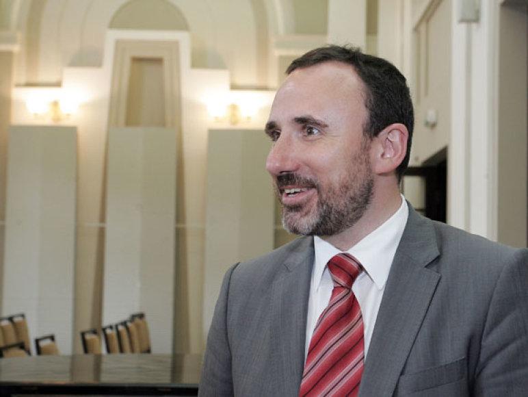 Kultūros ministras A.Gelūnas