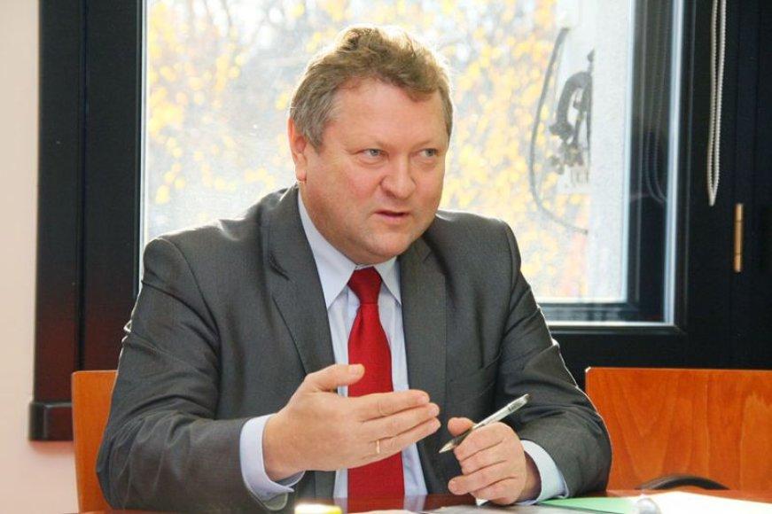 K.Starkevičius Kauno mero kabinete