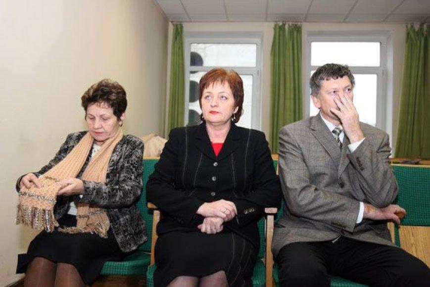 Teismas išteisino visus tris Birštono savivaldybės atstovus (iš kairės): D.Žitkuvienę, N.Dirginčienę ir V.V.Revucką