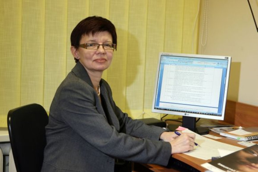 Kauno moterų draugijos direktorė Daiva Baranauskienė