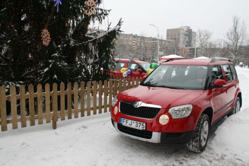 Seniūnams nupirkti nauji automobiliai