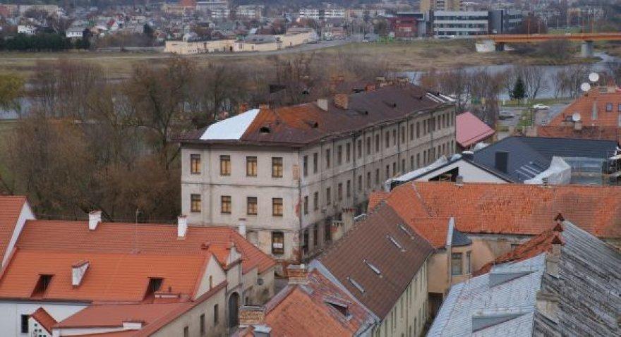 Kauno senamiesčio piktžaizde tapęs pastatas per dvejus metus turėtų neatpažįstamai pasikeisti