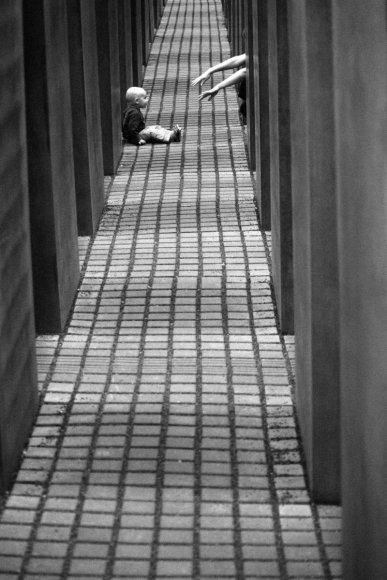 Lenkų fotografo kūriniuose dažniausiai užfiksuoti žmonės.
