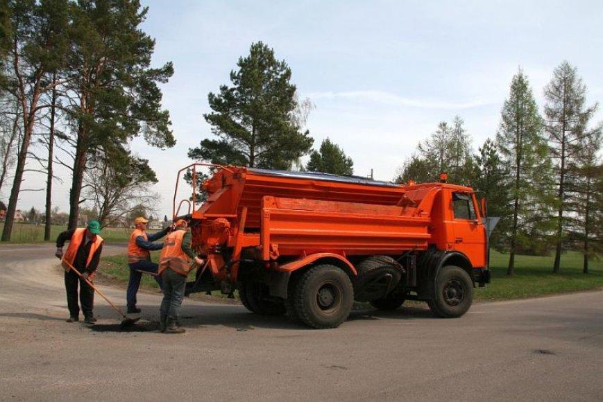 Kauno rajono keliams ir gatvėms tvarkyti šiemet skirta puse milijono litų daugiau