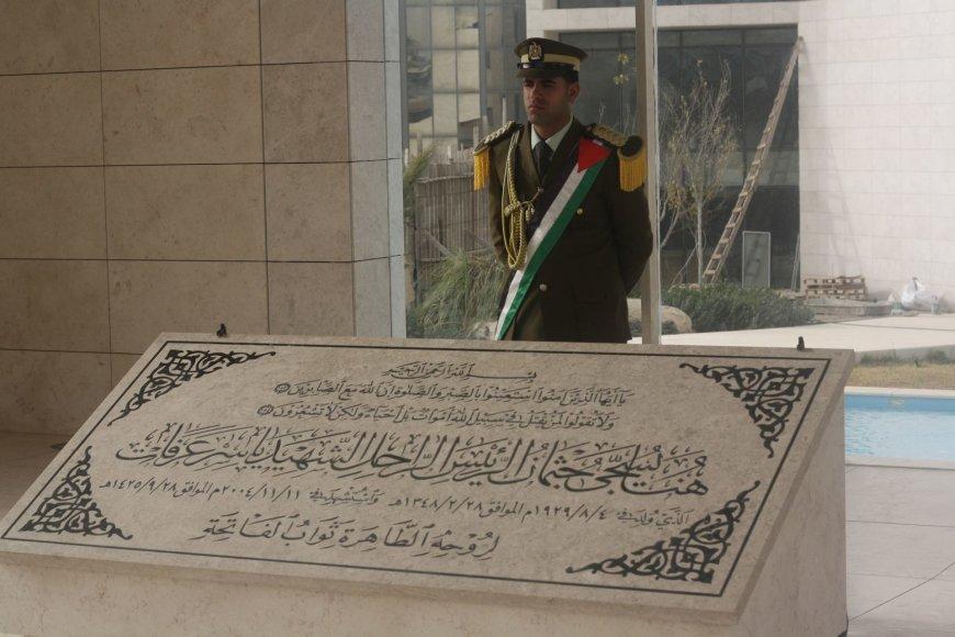 Vaido Mikaičio nuotr./Arafato sarkofagas