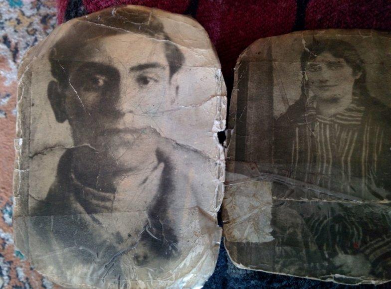 Raimondos Mikalčiūtės-Urbonės/15min nuotr./Eišiškėse gyvenančios Rozos šeima buvo paliesta Holokausto – nuotraukose du nužudyti jos protėviai