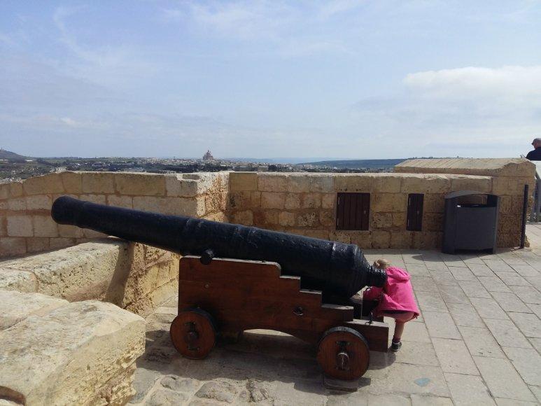Godos Juocevičiūtės nuotr./Maltoje vingiuoja riterių keliai