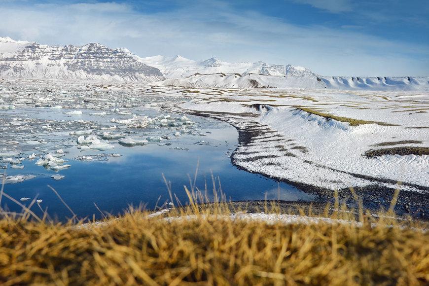 Shutterstock nuotr./Vatnajokudlio ledynas