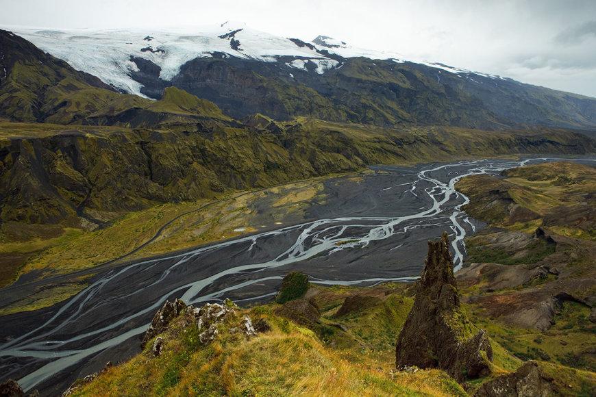 Shutterstock nuotr./Ejafjadlojokudlio ugnikalnis