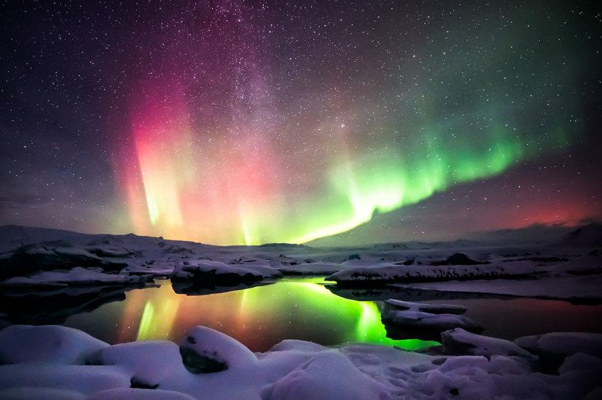 Shutterstock nuotr./Šiaurės pašvaistė