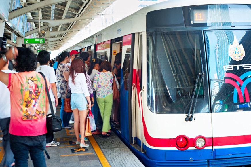 123rf.com /Turistai Tailande