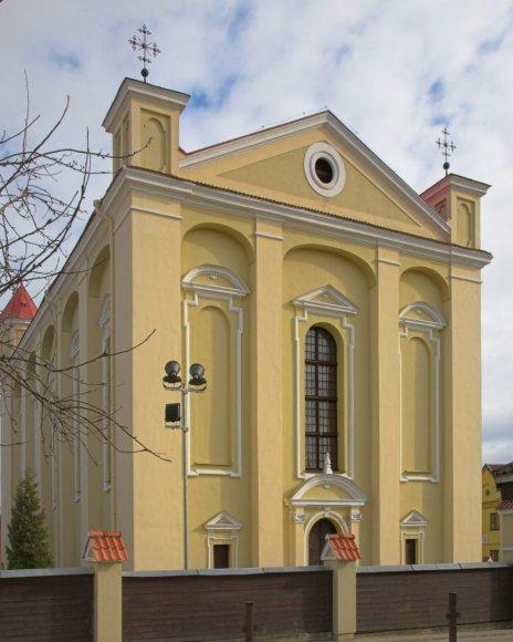 Organizatorių nuotr./Evangelikų reformatų bažnyčia ir kunigaikščių Radvilų mauzoliejus