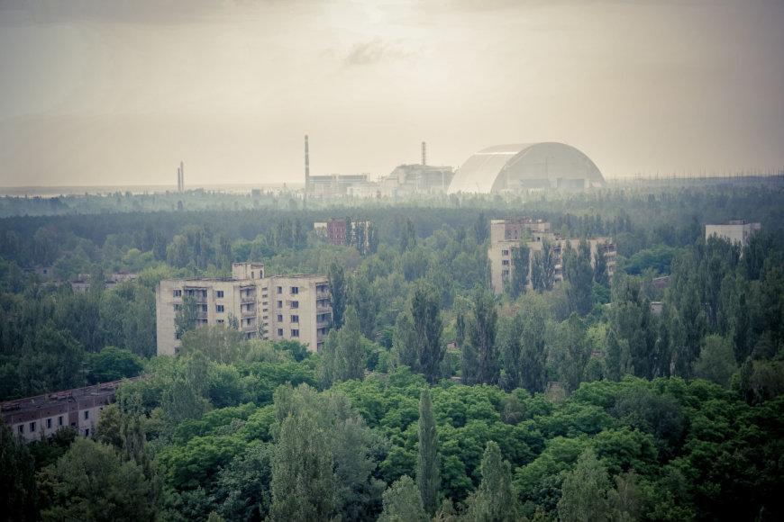 Gyčio Burausko nuotr./Fotografo nuotraukose – nelegalios kelionės Černobylyje akimirkos