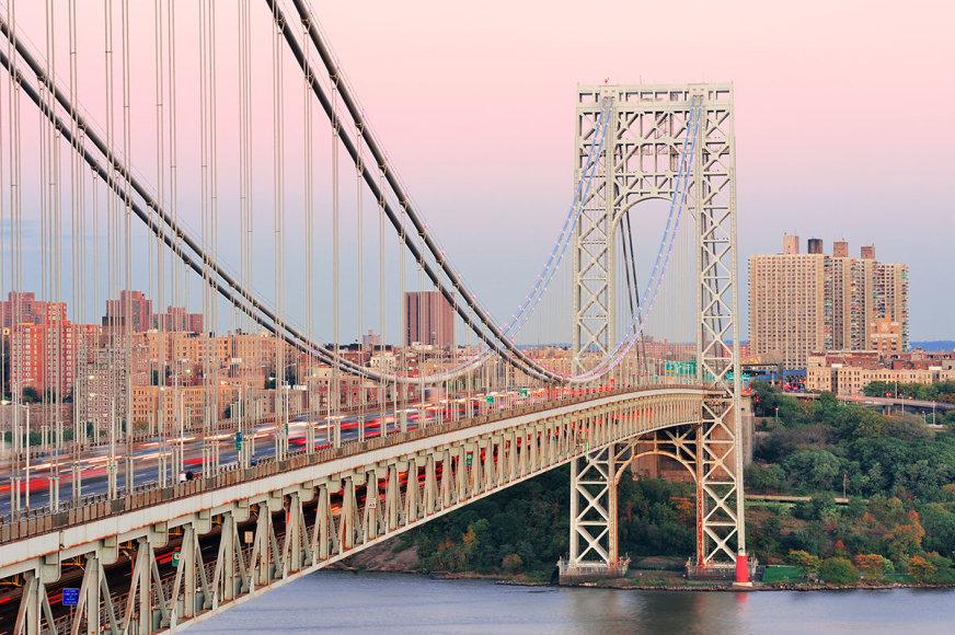 Shutterstock nuotr./Džordžo Vašingtono tiltas