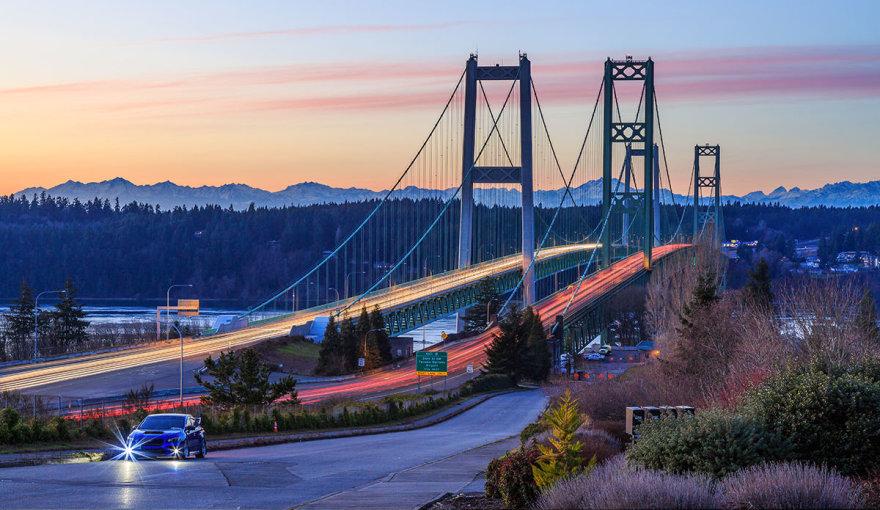 "Shutterstock nuotr./""Tacoma Narrows"" tiltas"