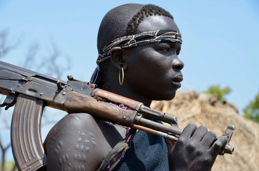 Dano Pankevičiaus nuotr./Etiopija, Mursi gentis