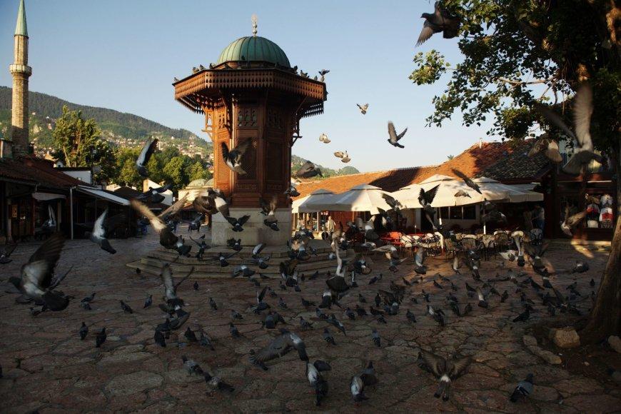 123rf.com nuotr./Sarajevo senamiestis